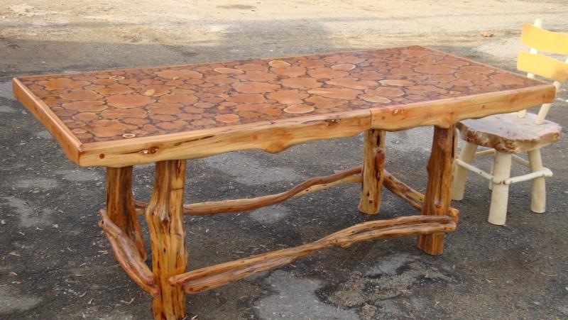 Стулья и столы из дерева своими руками фото